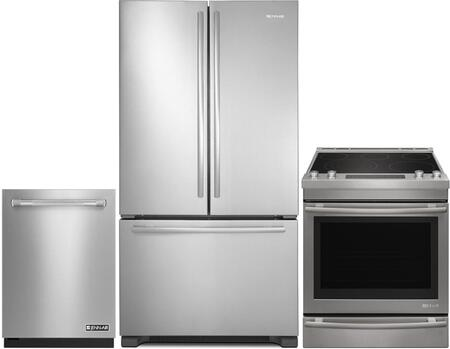 3 Piece Kitchen Appliance Package with JES1450FS 30