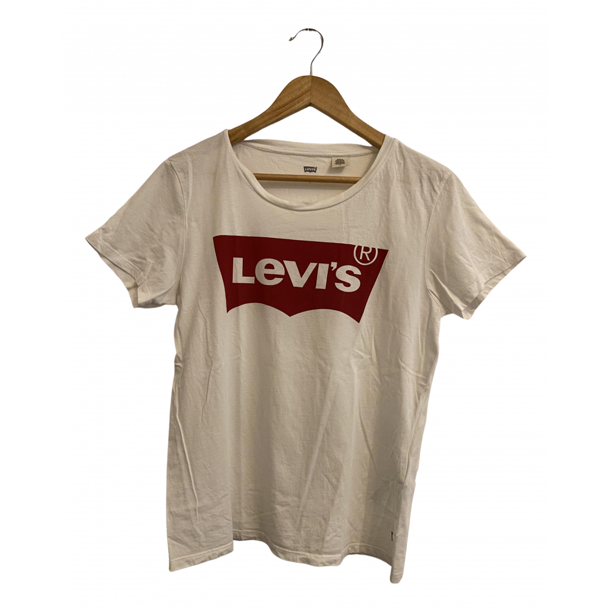 Levi's N White Cotton  top for Women L International