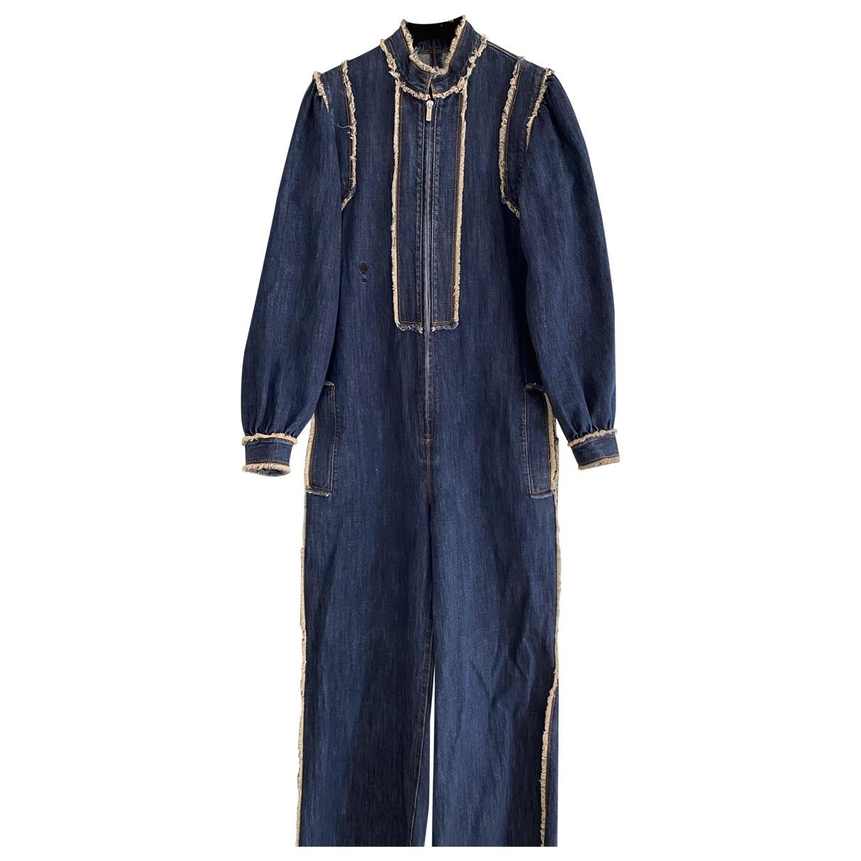 Dior \N Jumpsuit in  Blau Denim - Jeans
