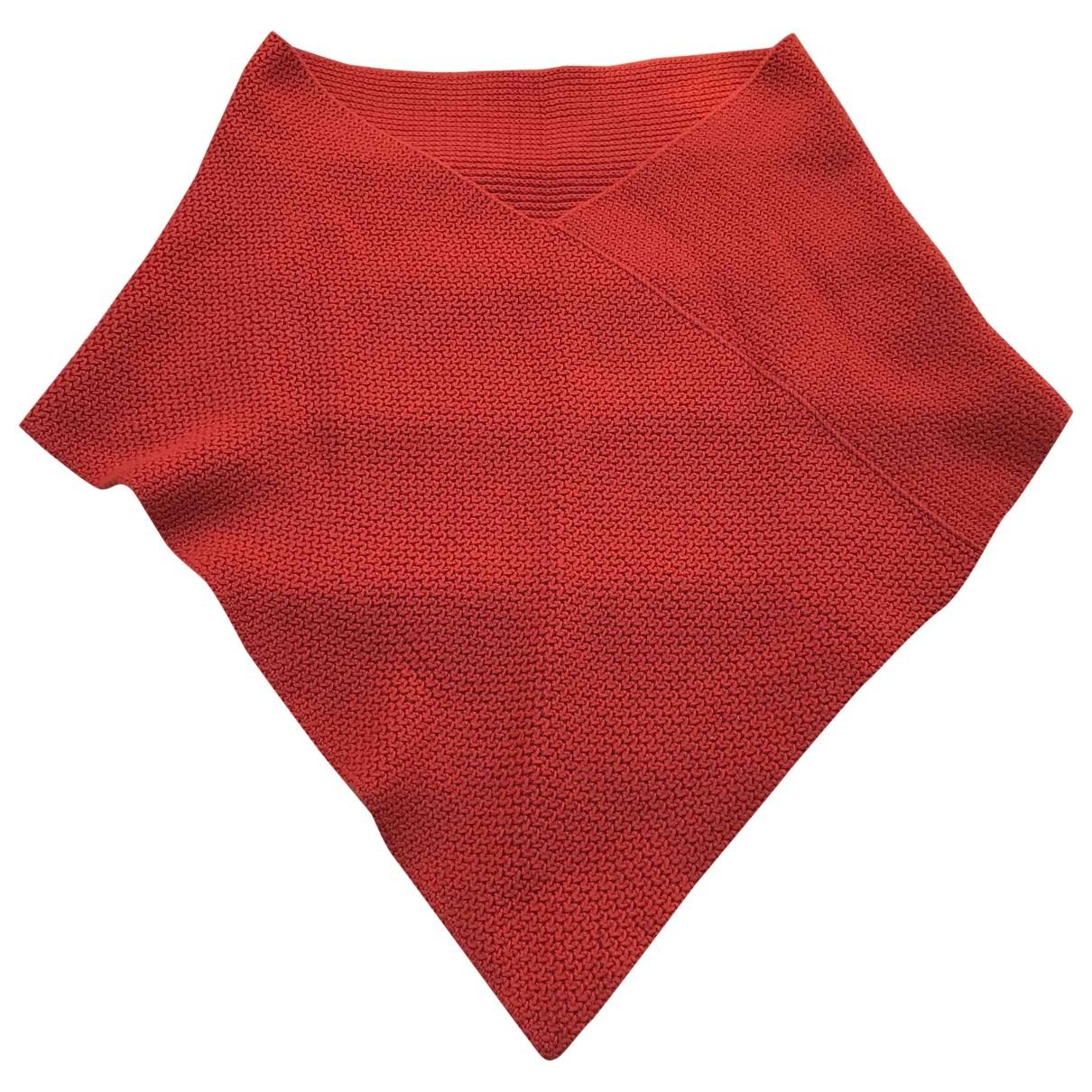 Wolford - Pull   pour femme en laine - orange