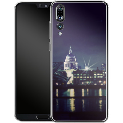 Huawei P20 Pro Silikon Handyhuelle - Thames von Ronya Galka