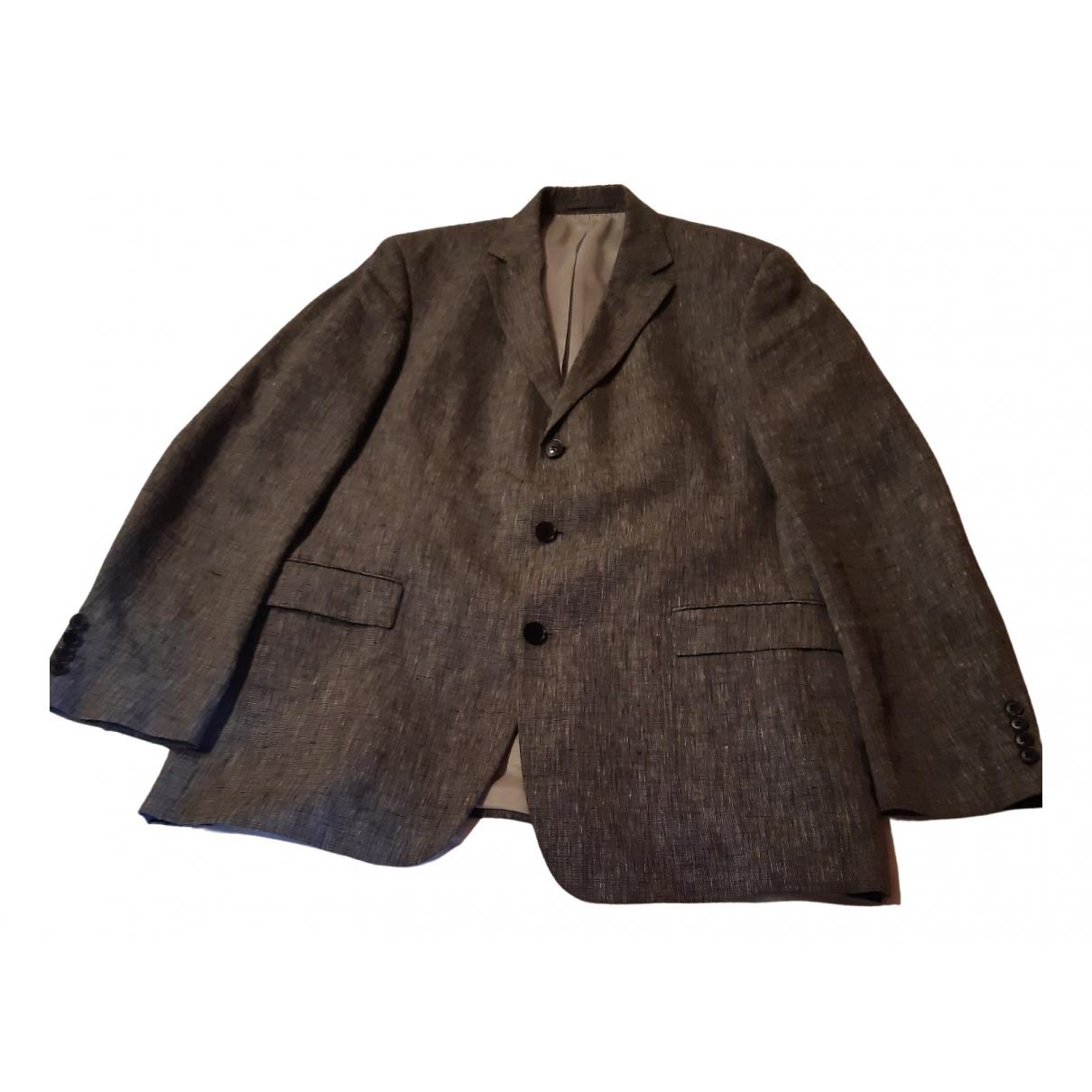Boss N Grey Linen jacket  for Men XL International