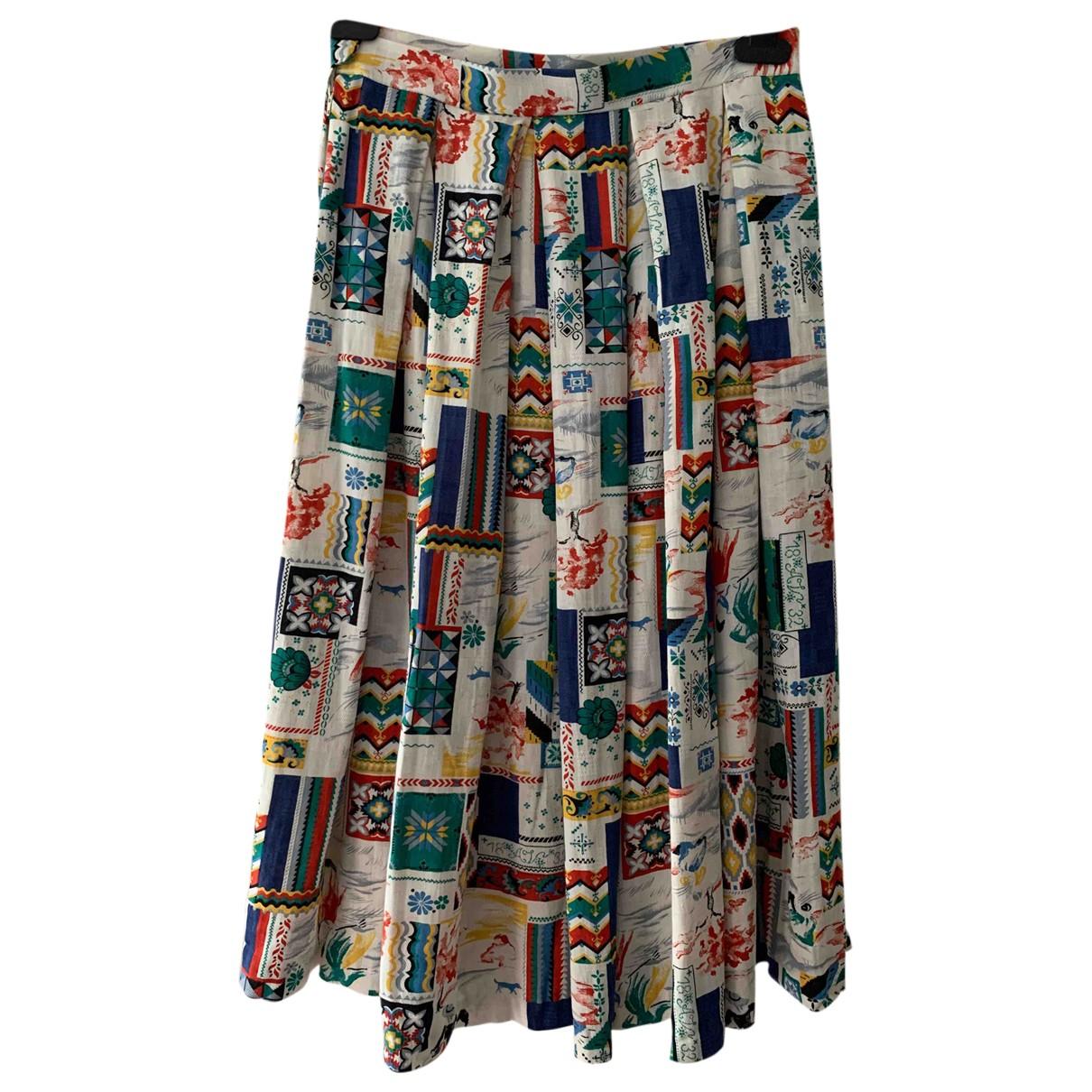 - Jupe Hippie Chic pour femme - multicolore