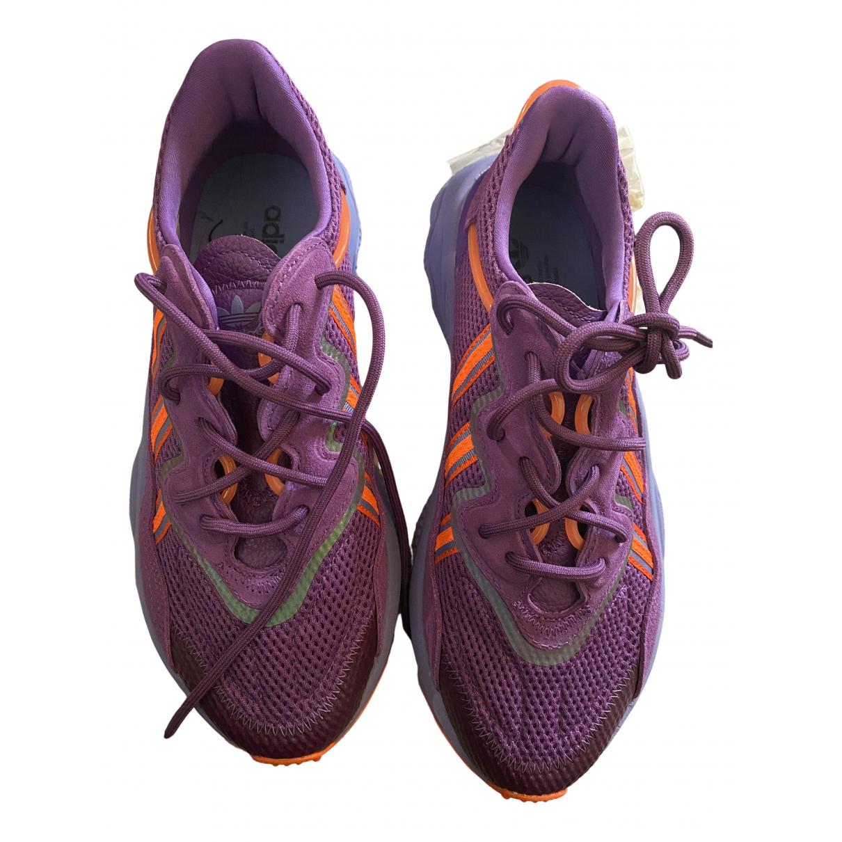 Adidas - Baskets Ozweego pour femme en toile - violet