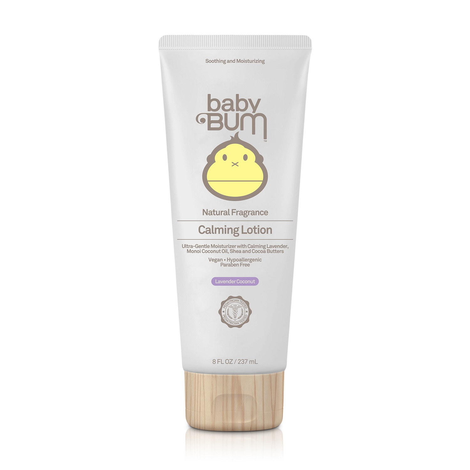 Sun Bum baby Bum Soothing and Moisturizing Calming Lotion [Natural Fragrance] (8.0 fl oz / 237 ml)