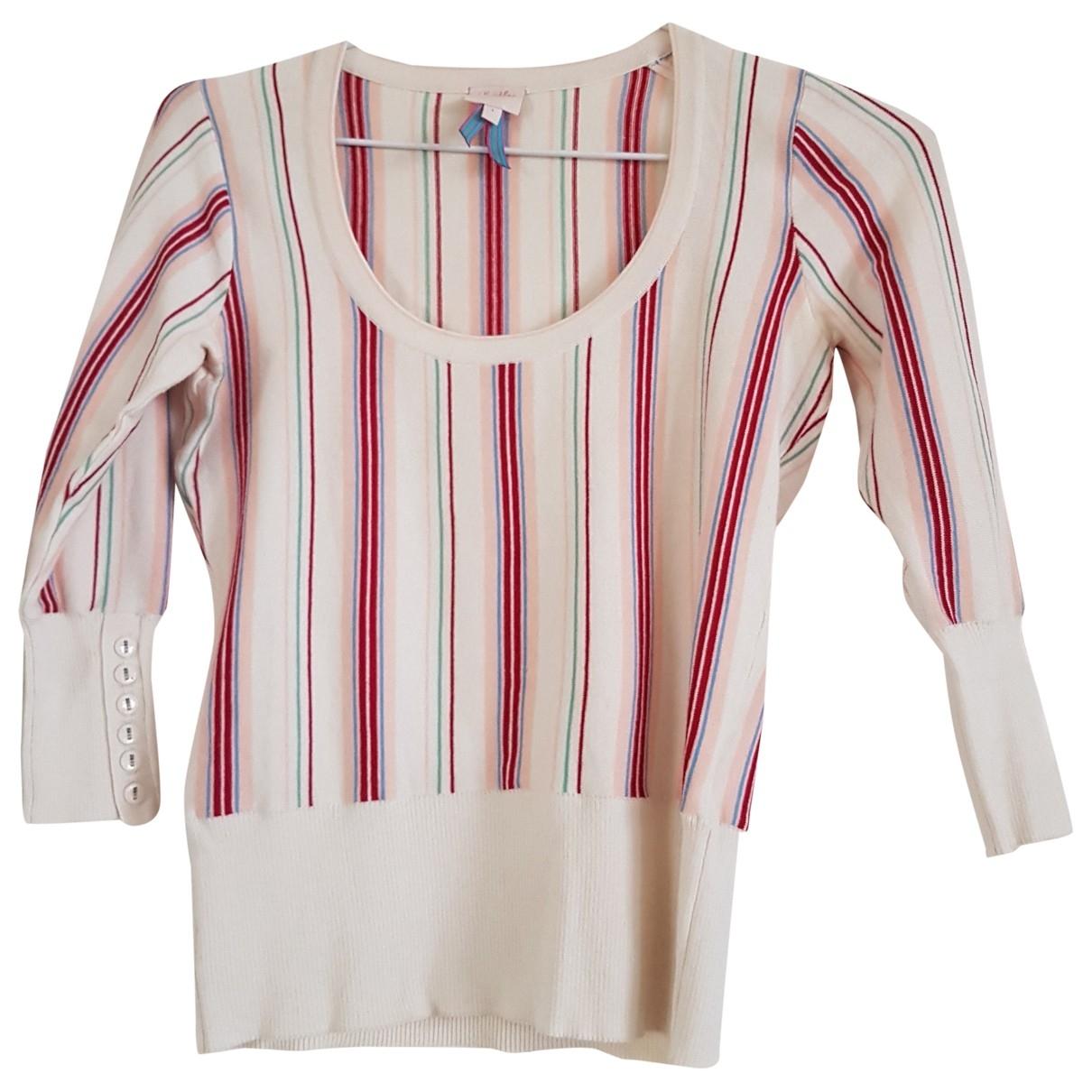 Whistles - Pull   pour femme en coton - multicolore