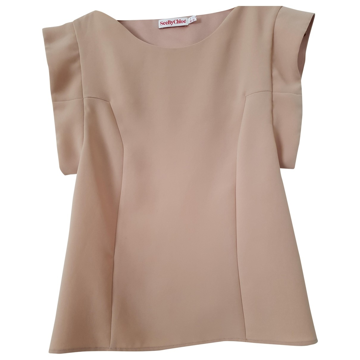 See By Chloe - Top   pour femme - rose