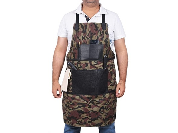 Aaron Utility Apron With Tool Pockets