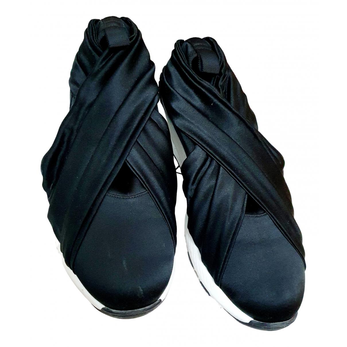 Casadei \N Sneakers in  Schwarz Tweed