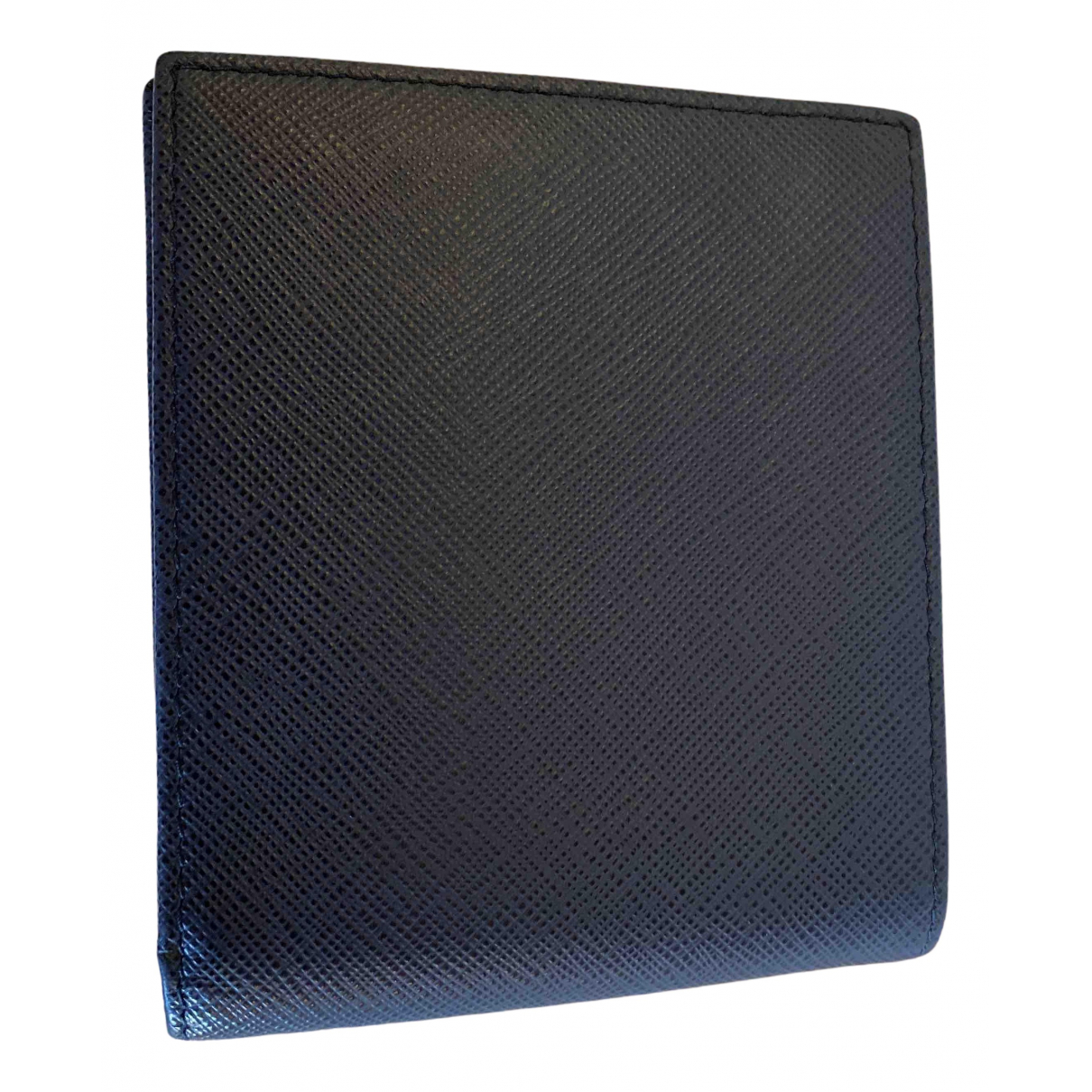 Prada - Petite maroquinerie   pour homme en cuir - bleu