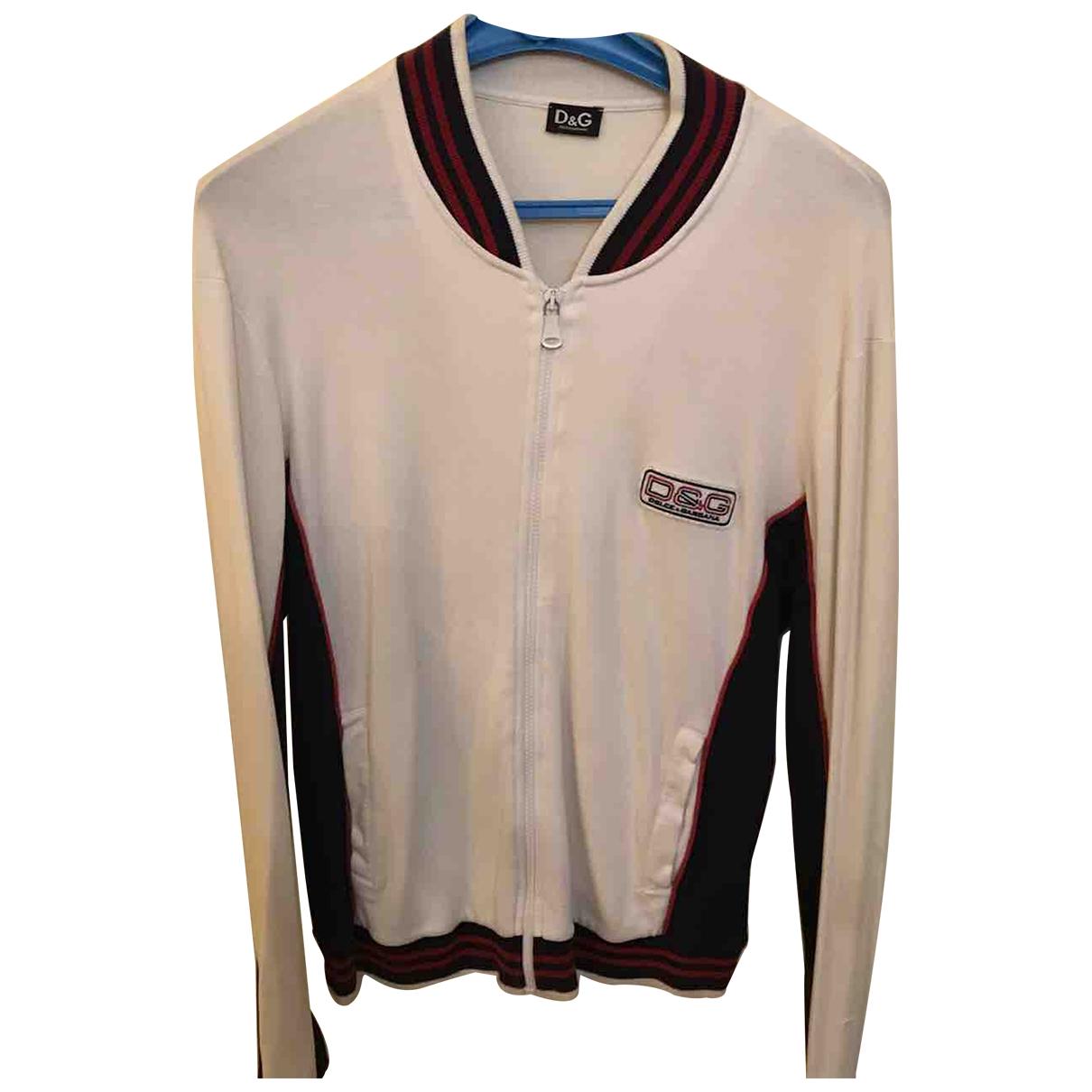 D&g \N Pullover.Westen.Sweatshirts  in  Weiss Baumwolle