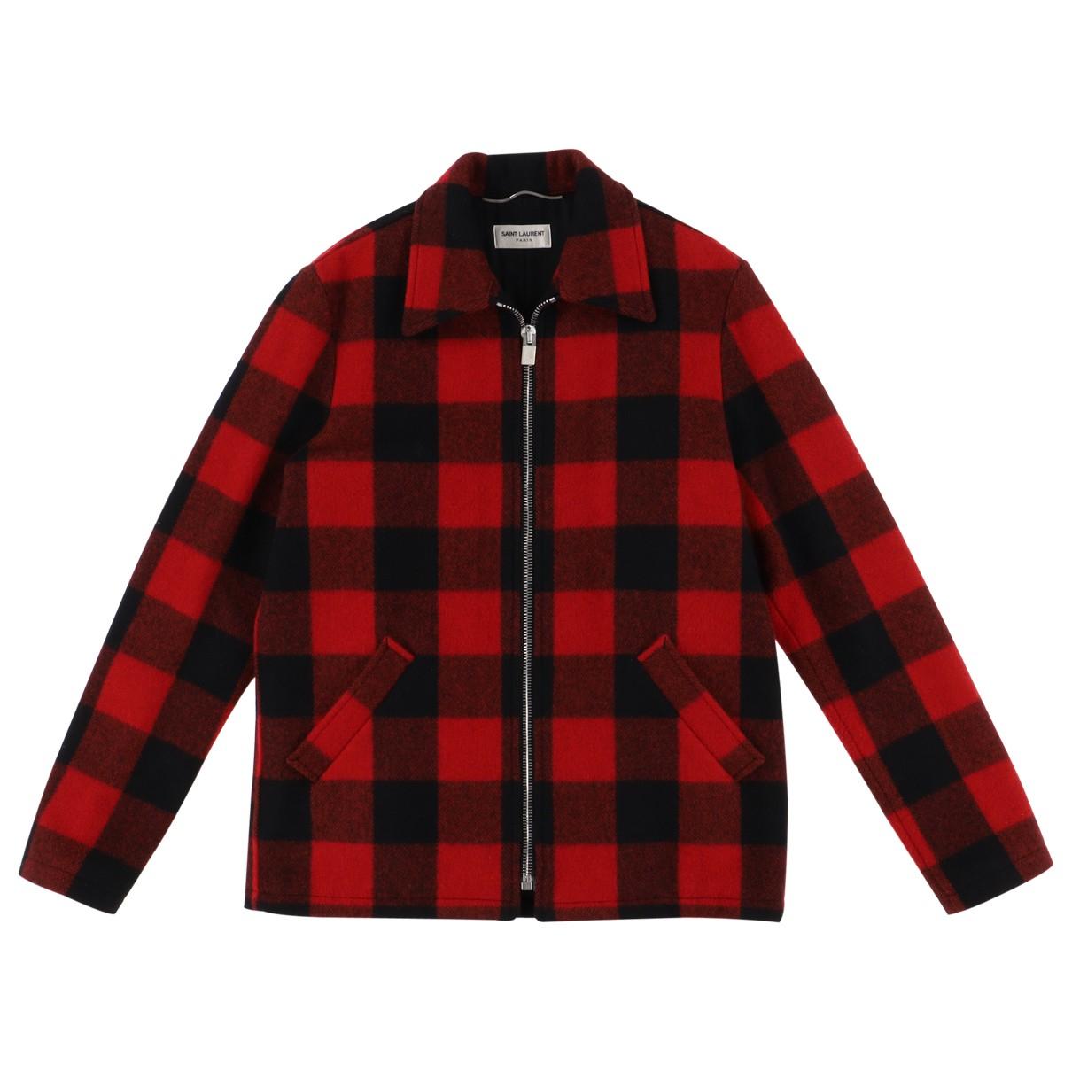 Saint Laurent N Red Wool jacket  for Men S International