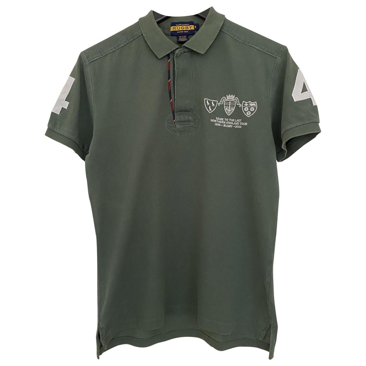 Rugby Ralph Lauren \N Khaki Cotton Polo shirts for Men S International