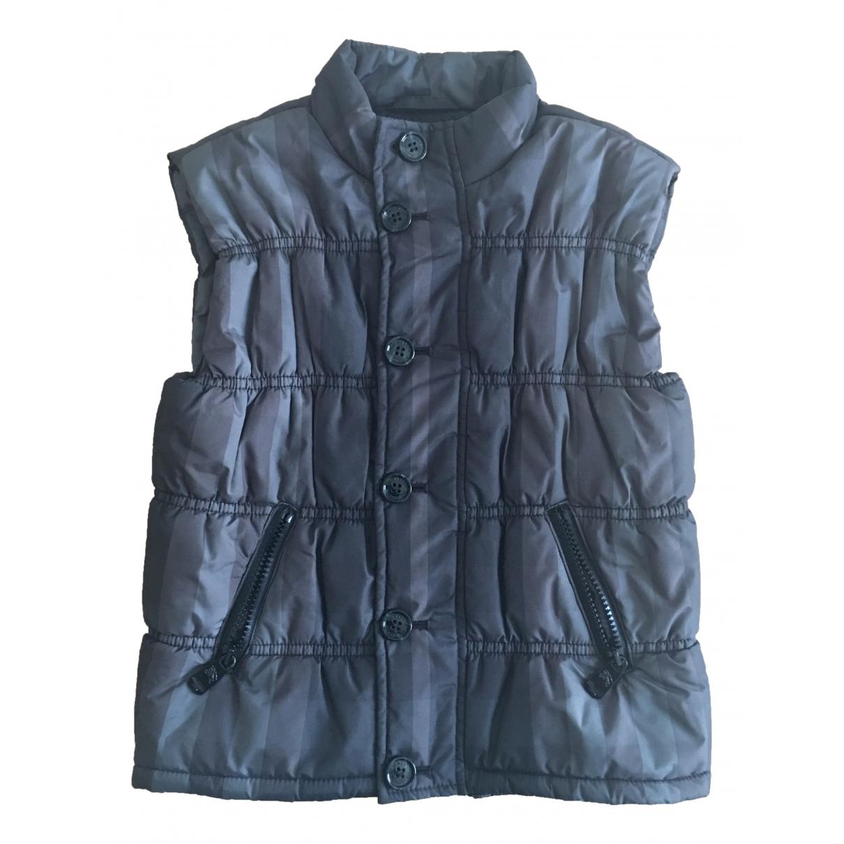 Burberry - Blousons.Manteaux   pour enfant - anthracite
