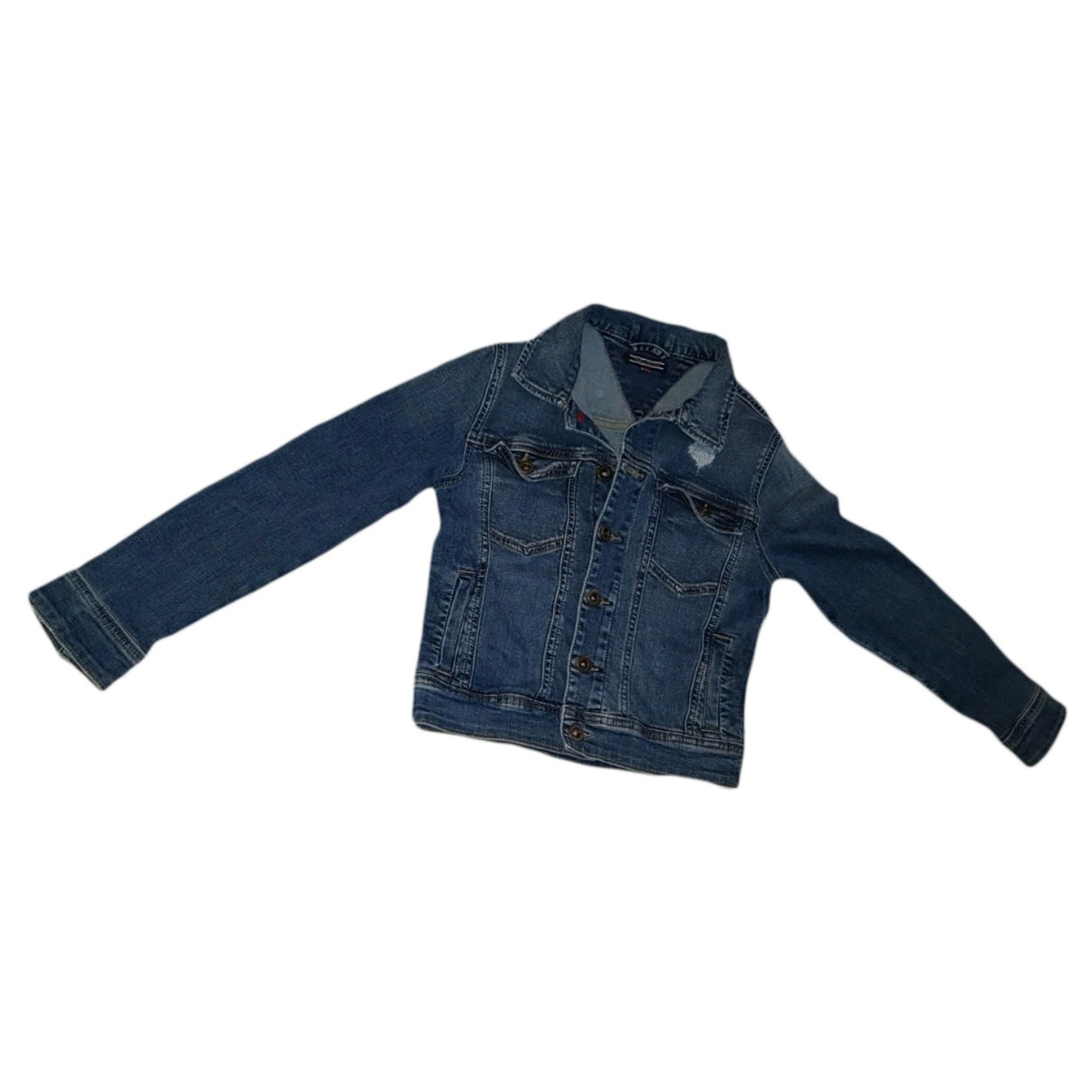 Tommy Hilfiger - Blousons.Manteaux   pour enfant en coton - bleu
