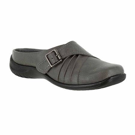 Easy Street Womens Hart Slip-On Shoe, 9 1/2 Medium, Gray