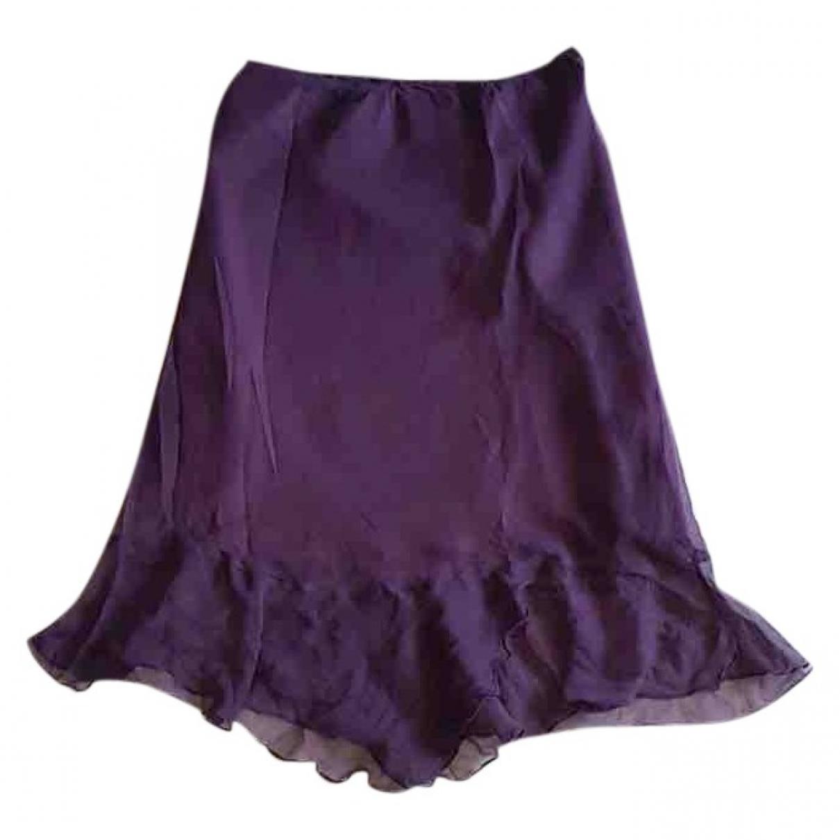 Falda midi de Seda Non Signe / Unsigned