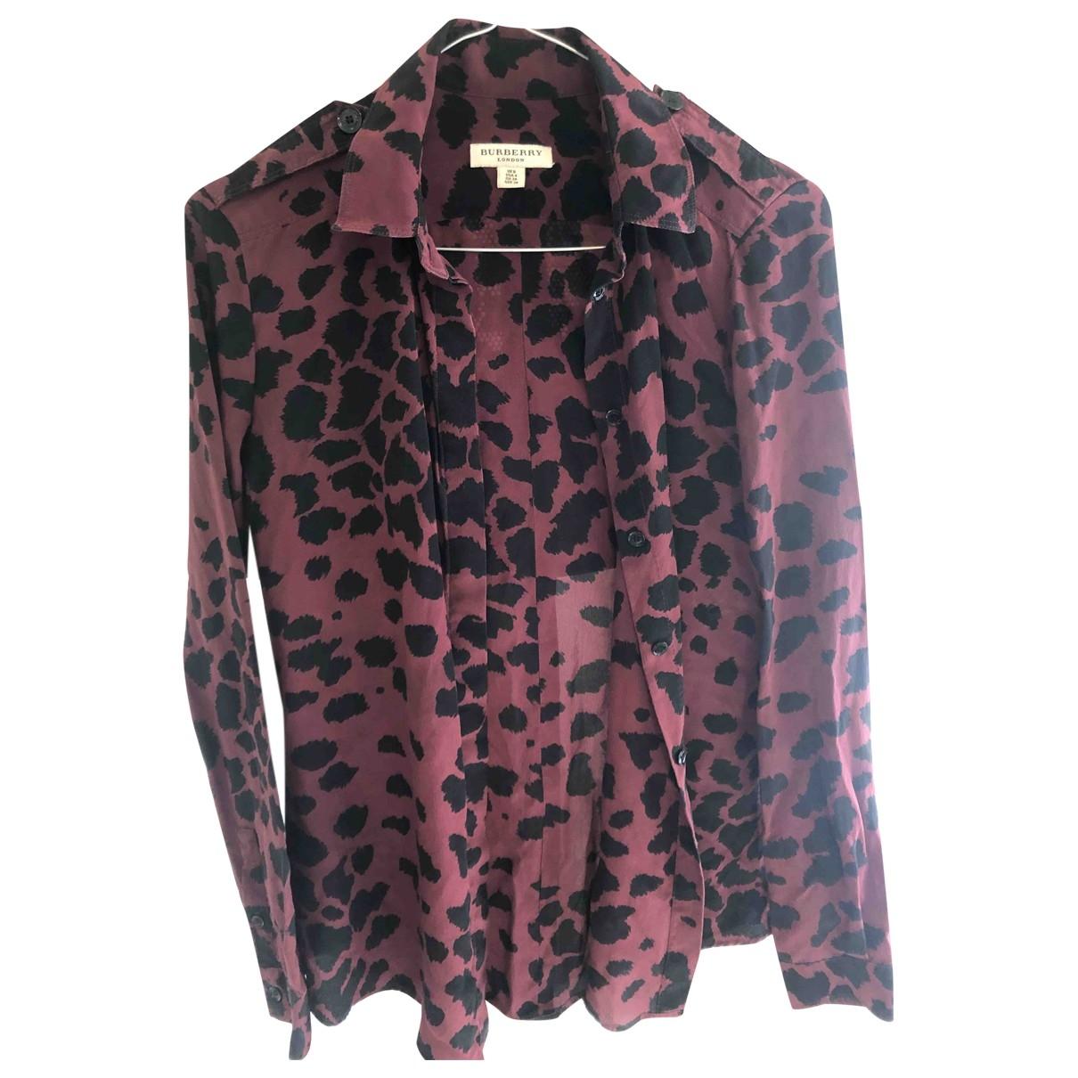 Camisa de Seda Burberry