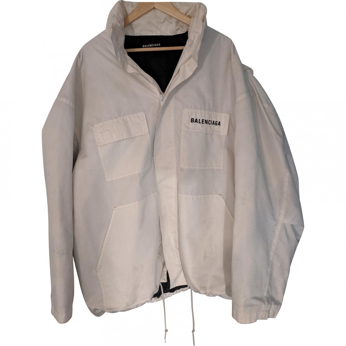 Balenciaga \N White jacket  for Men 46 FR
