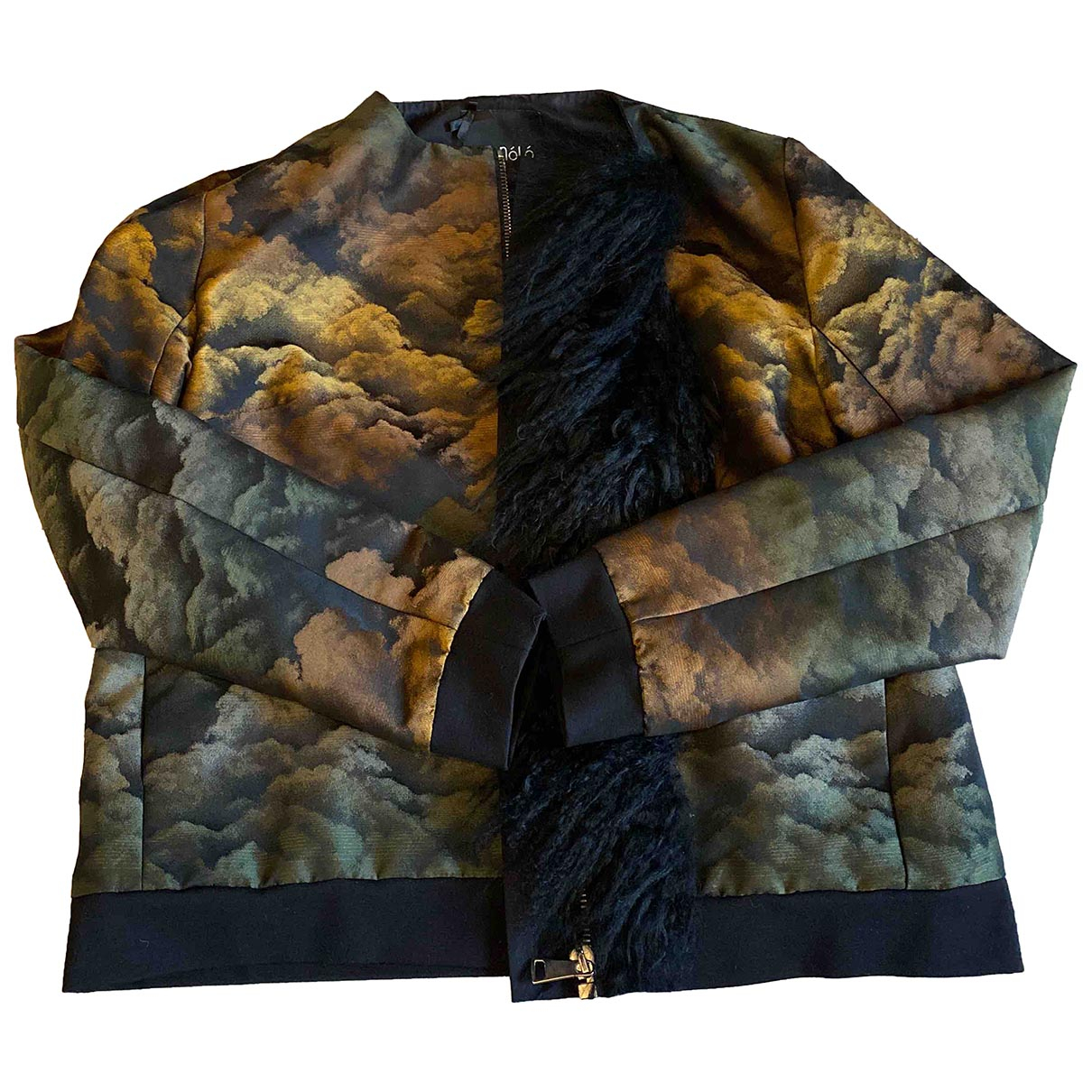 Non Signe / Unsigned \N Jacke in  Bunt Polyester