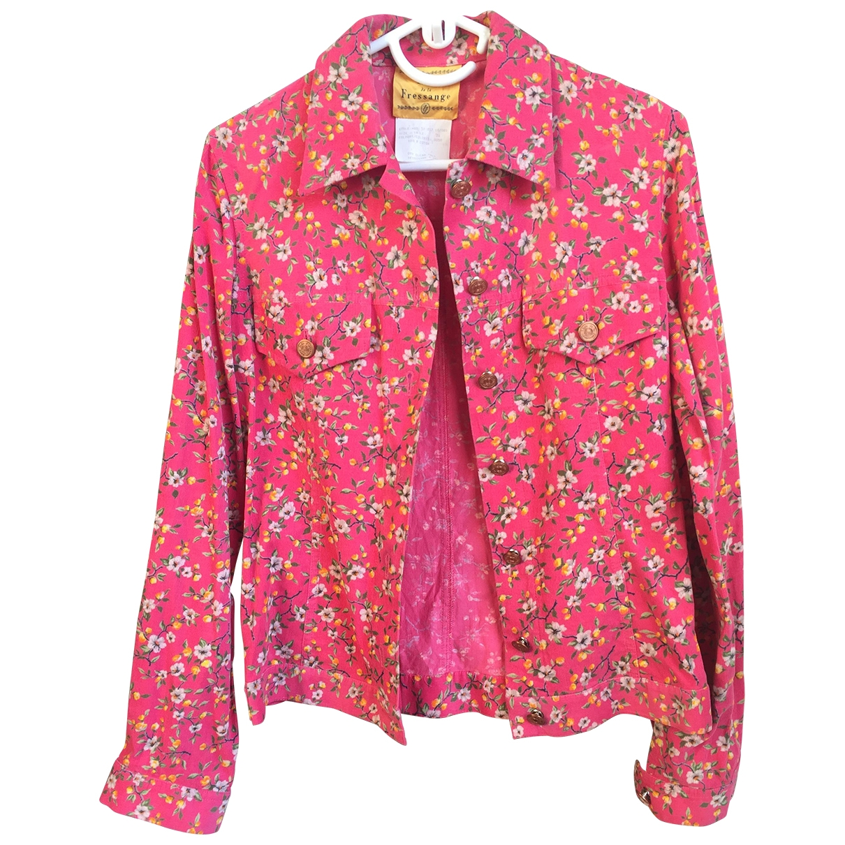 Inès De La Fressange Paris \N Pink Velvet jacket for Women 36 FR