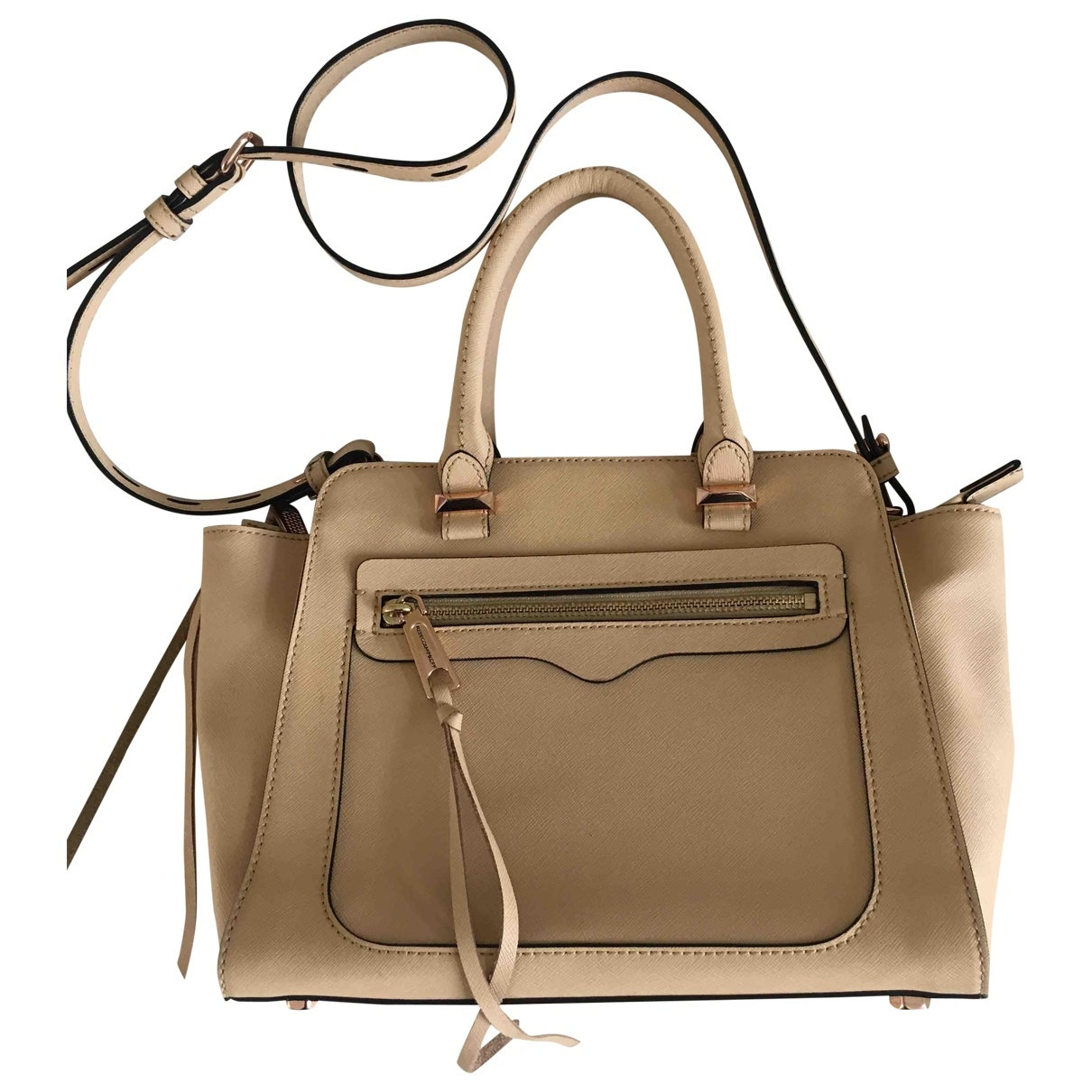 Rebecca Minkoff \N Beige Leather handbag for Women \N