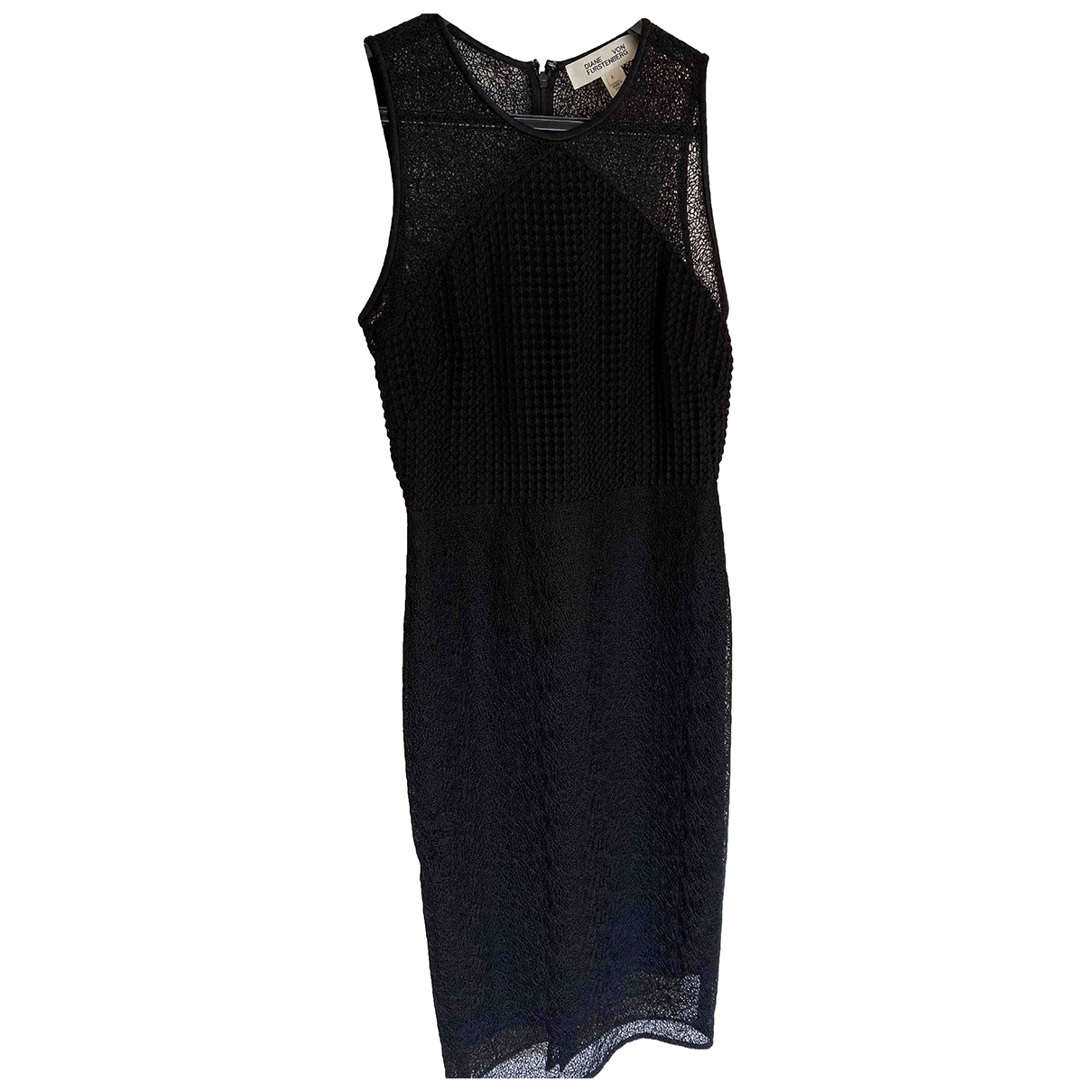 Diane Von Furstenberg \N Black dress for Women 6 US