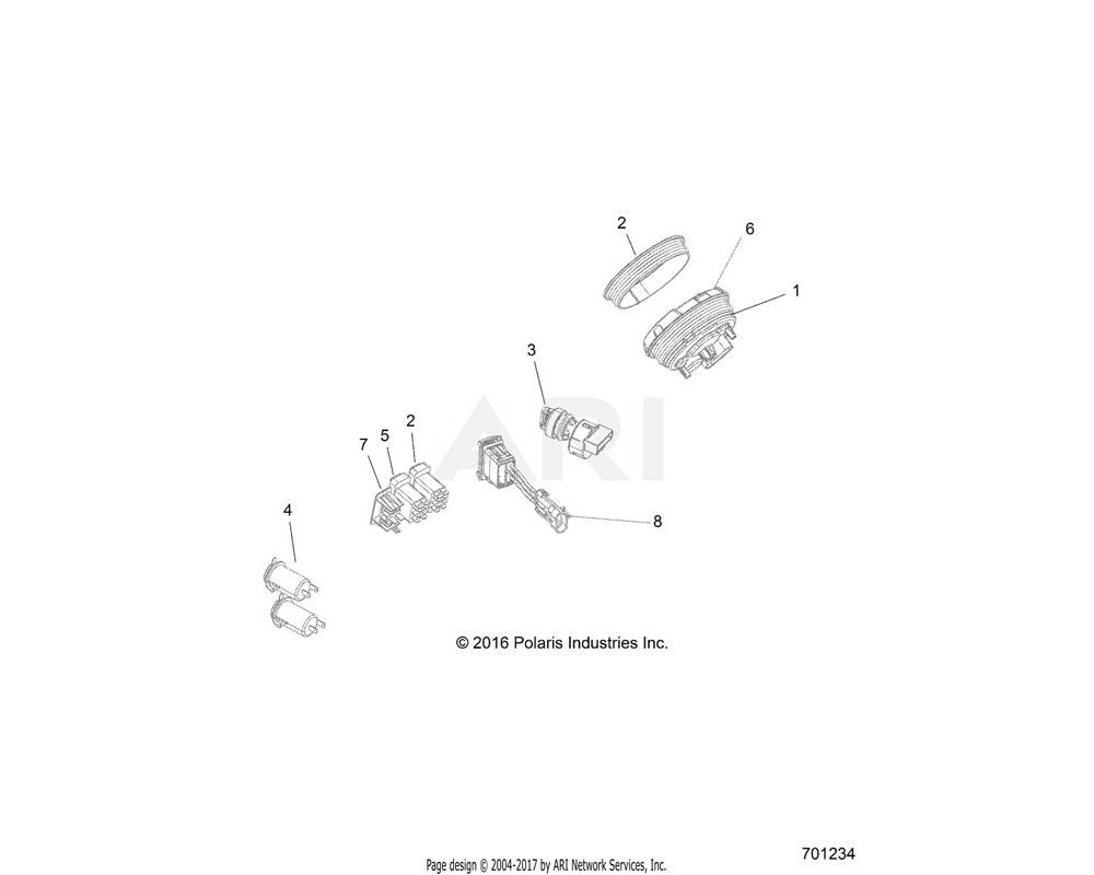 Polaris OEM 4016214 SWITCH-DRIVEMODE, 3MODE, RGR