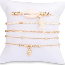Schale Charme Perlen Armband Set 5pcs