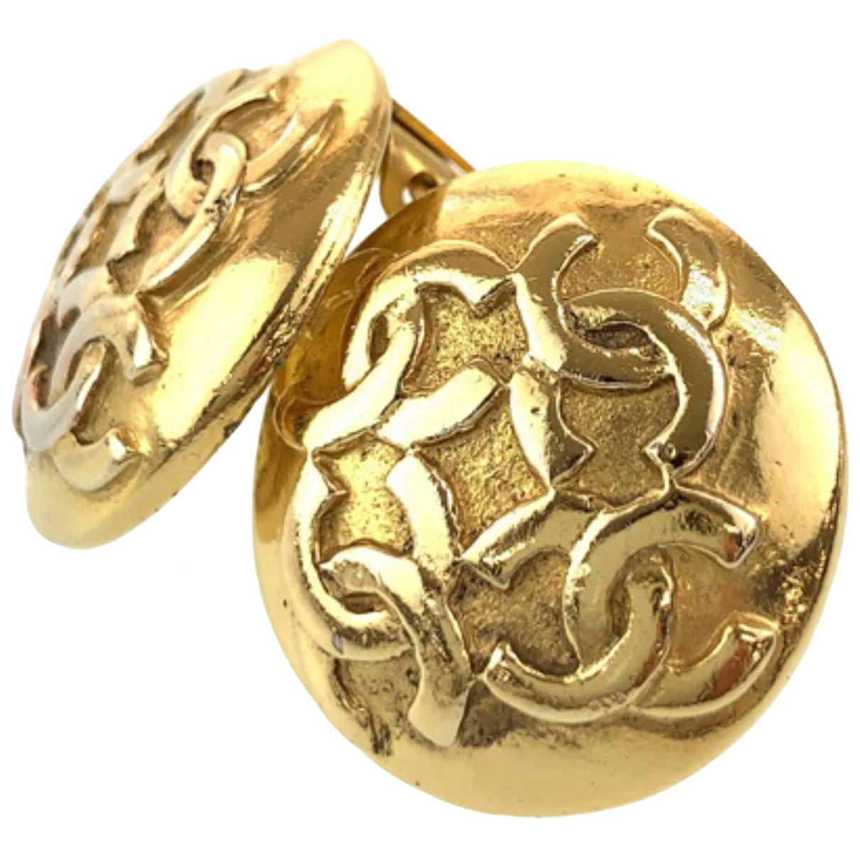 Chanel N Metal Earrings for Women N