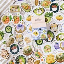46pcs Food Print Sticker