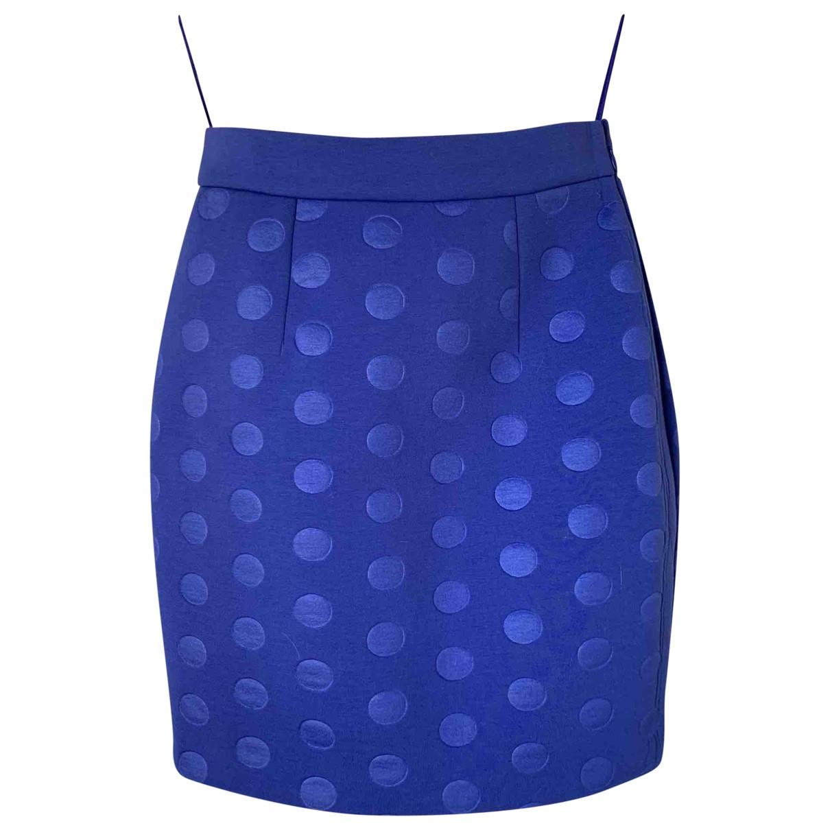 Stella Mccartney \N Blue skirt for Women 40 IT