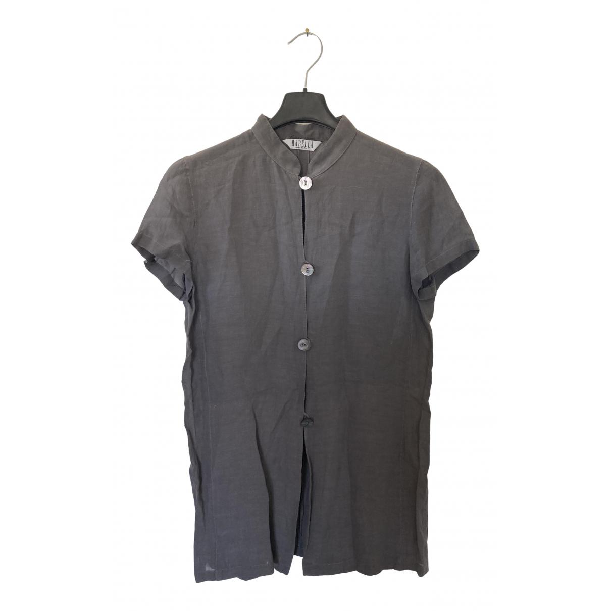 Marella - Top   pour femme - gris
