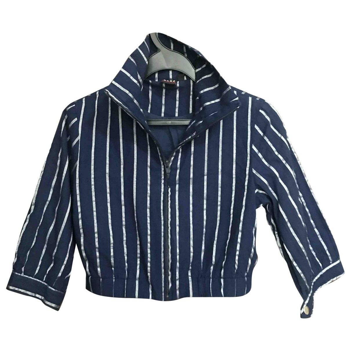 Non Signé / Unsigned \N Blue jacket for Women S International