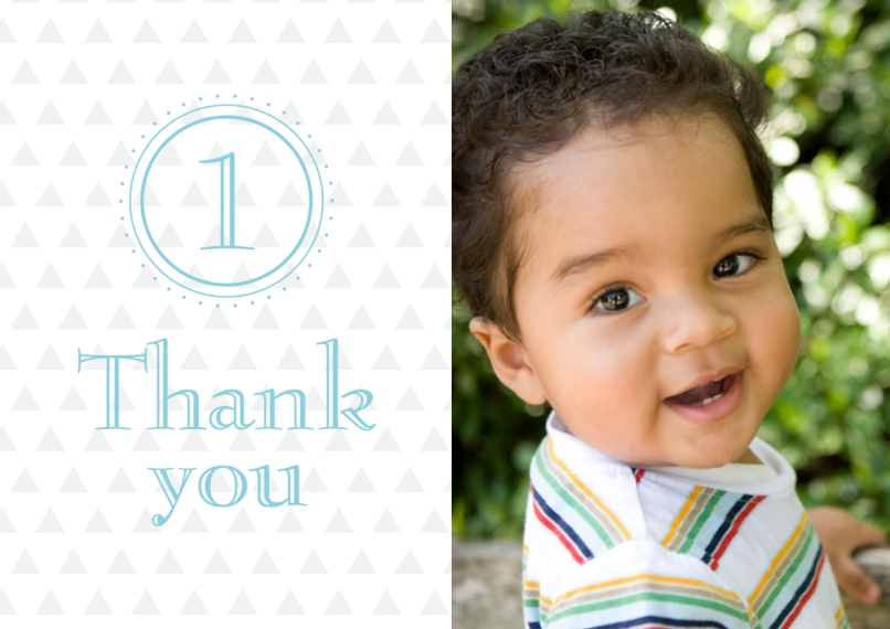 Kids Thank You Cards 5x7 Cards, Premium Cardstock 120lb with Rounded Corners, Card & Stationery -Adding Up Birthday Thank You