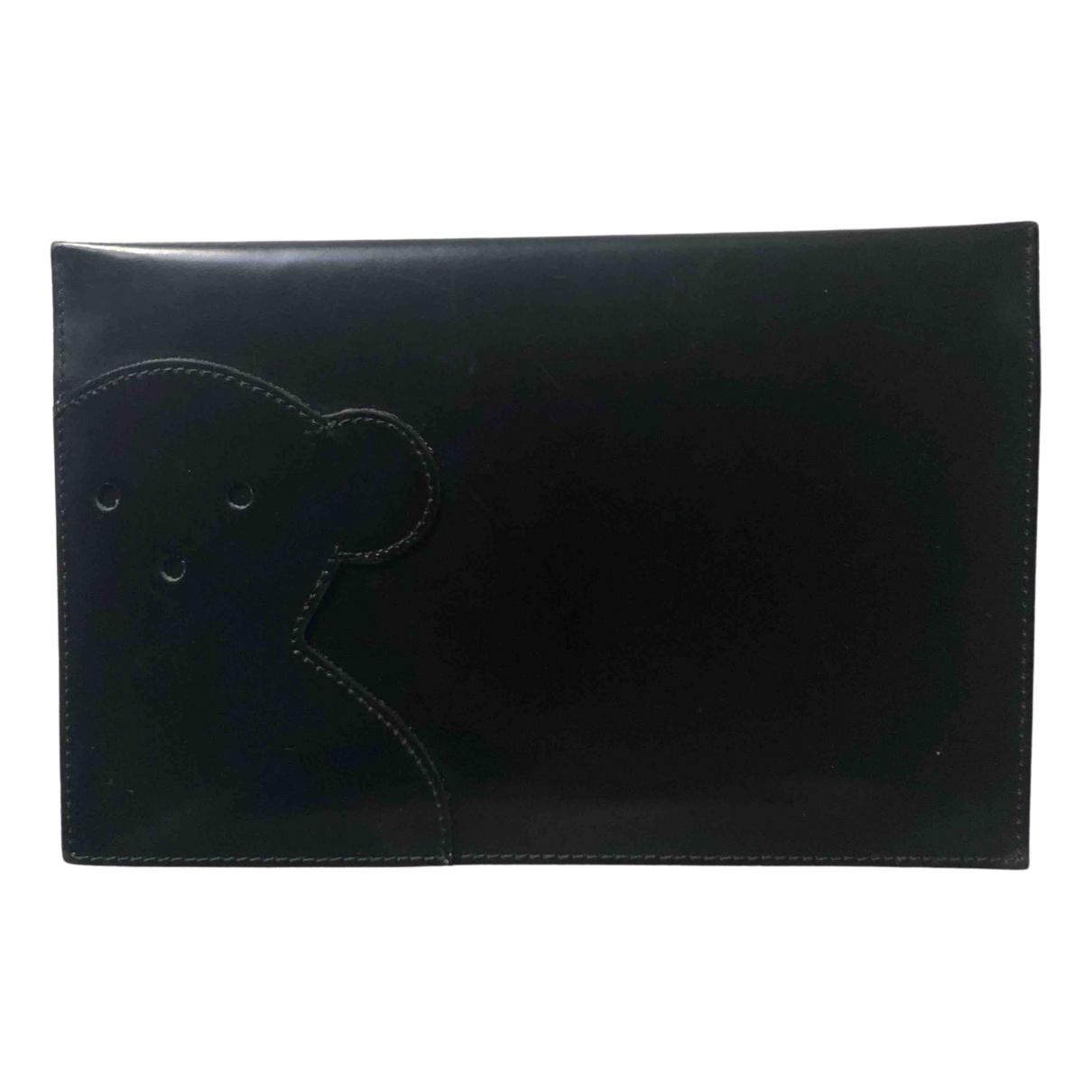 Atelier Tous - Pochette   pour femme en cuir - noir
