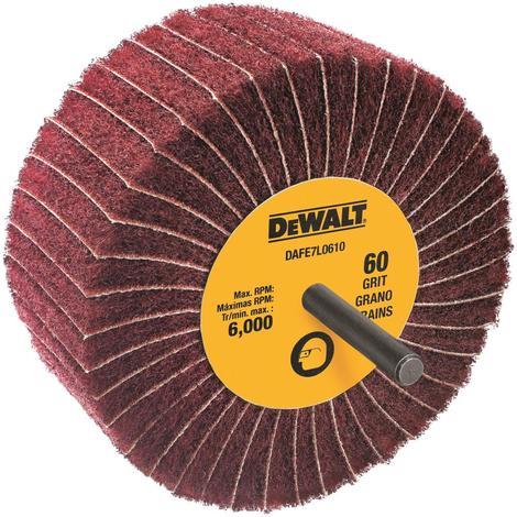 DeWalt 4 In. x 1-3/4 In. x 1/4 In. 60 g Finishing Flap Wheel