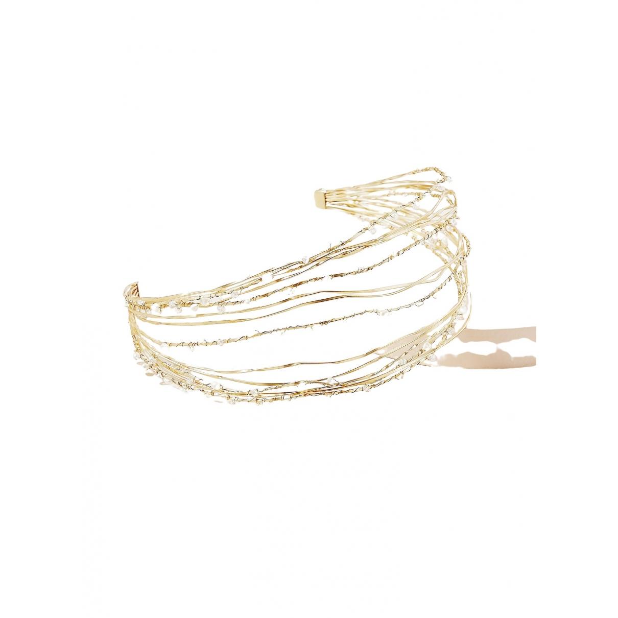 Anthropologie \N Gold Metal Hair accessories for Women \N