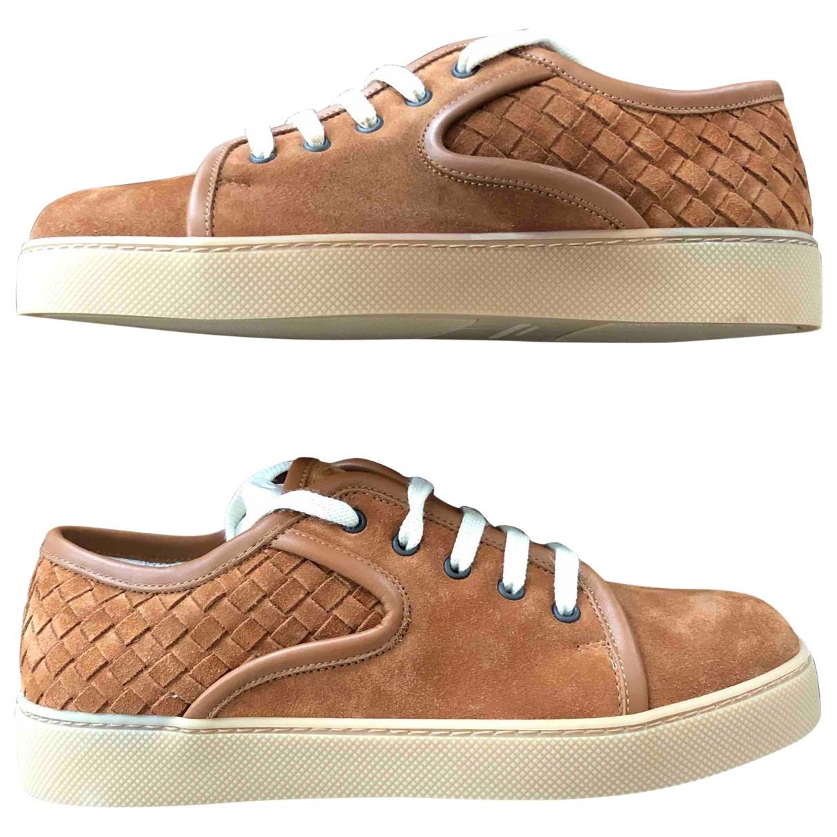 Bottega Veneta \N Sneakers in  Braun Veloursleder