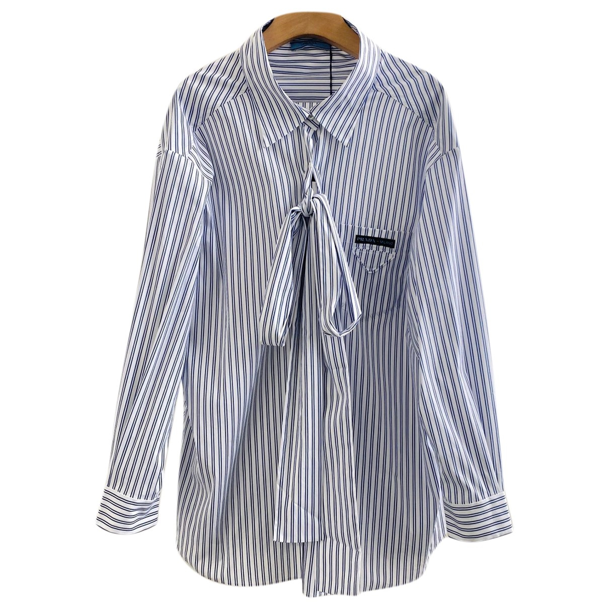 Prada - Top   pour femme en coton