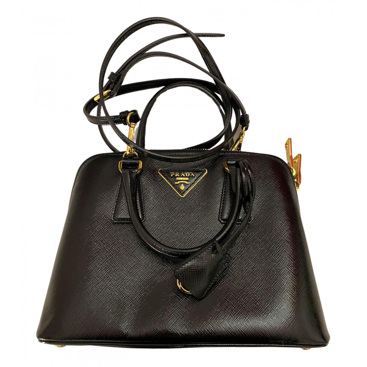 Prada Promenade Black Leather handbag for Women N