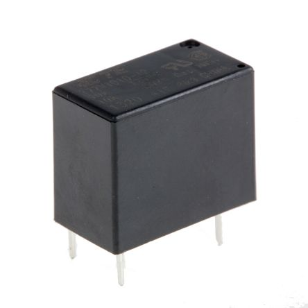 TE Connectivity , 12V dc Coil Non-Latching Relay SPNO, 10A Switching Current PCB Mount Single Pole