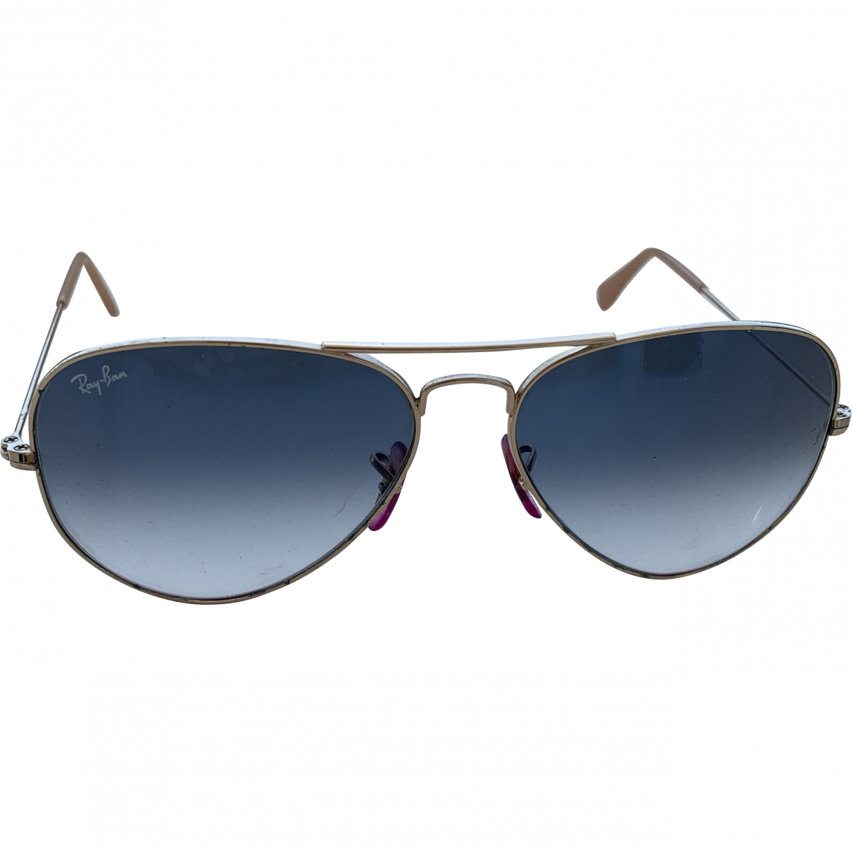 Ray-ban \N Sonnenbrillen in  Blau Metall