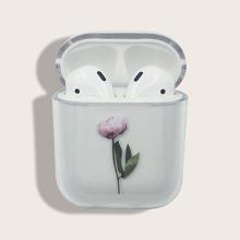 Flower Print Airpods Case