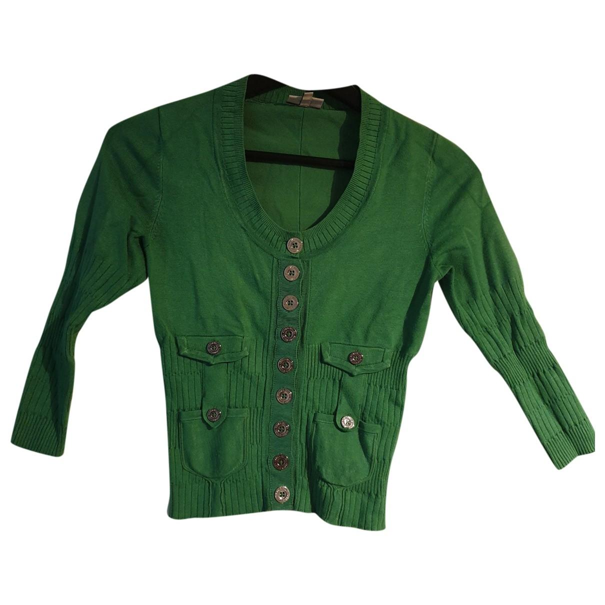 Karen Millen - Pull   pour femme en coton - vert