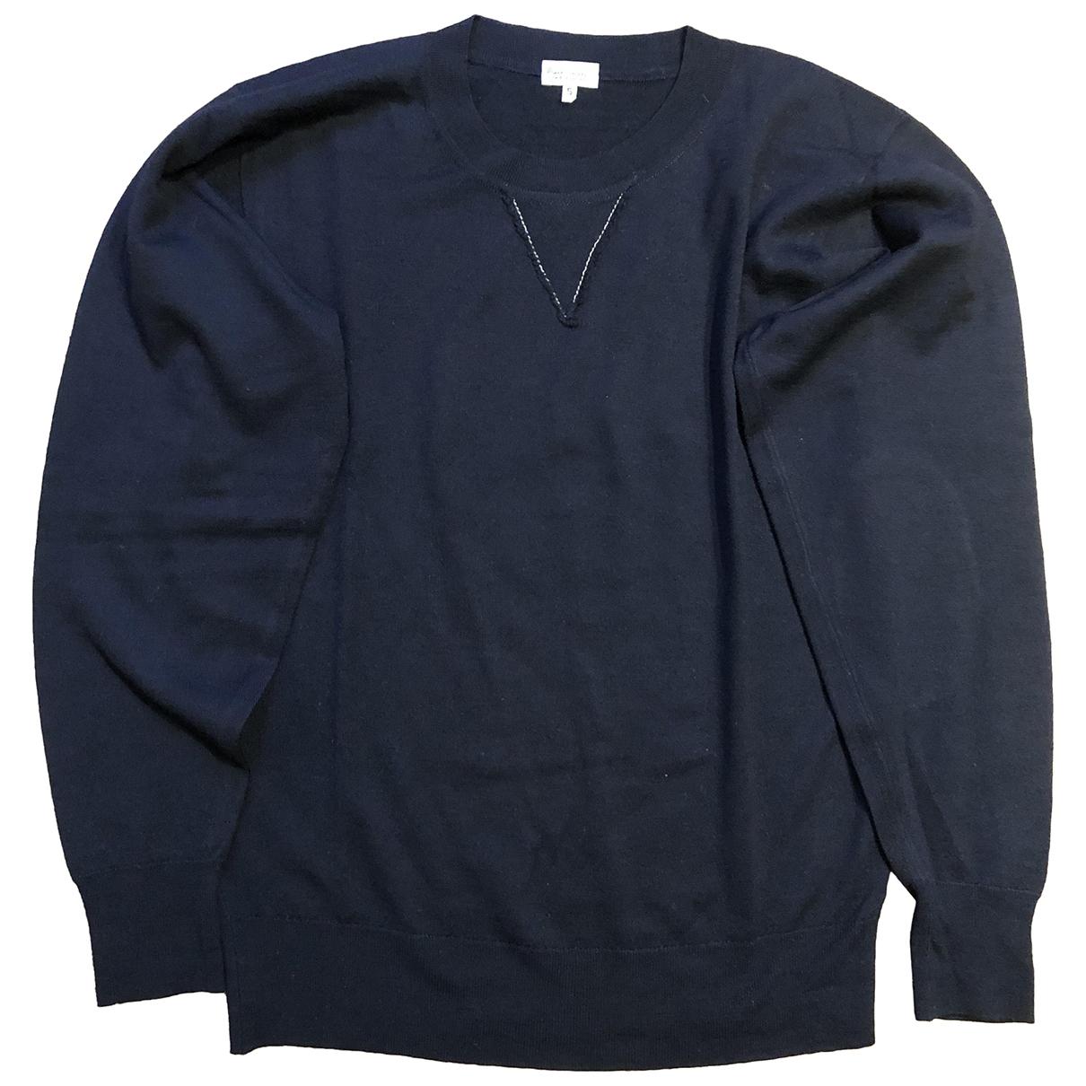 Paul Smith \N Pullover.Westen.Sweatshirts  in  Blau Wolle