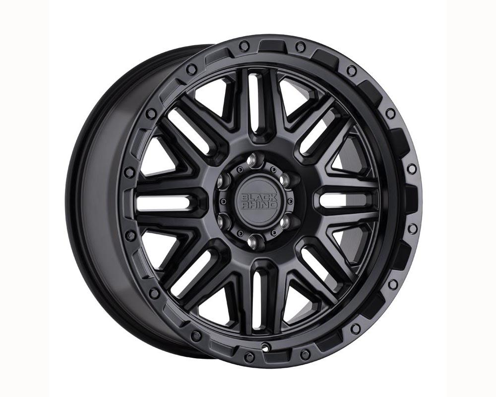 Black Rhino Alamo Wheel 17x9 5x127 -18 Matte Black w/Black Bolts