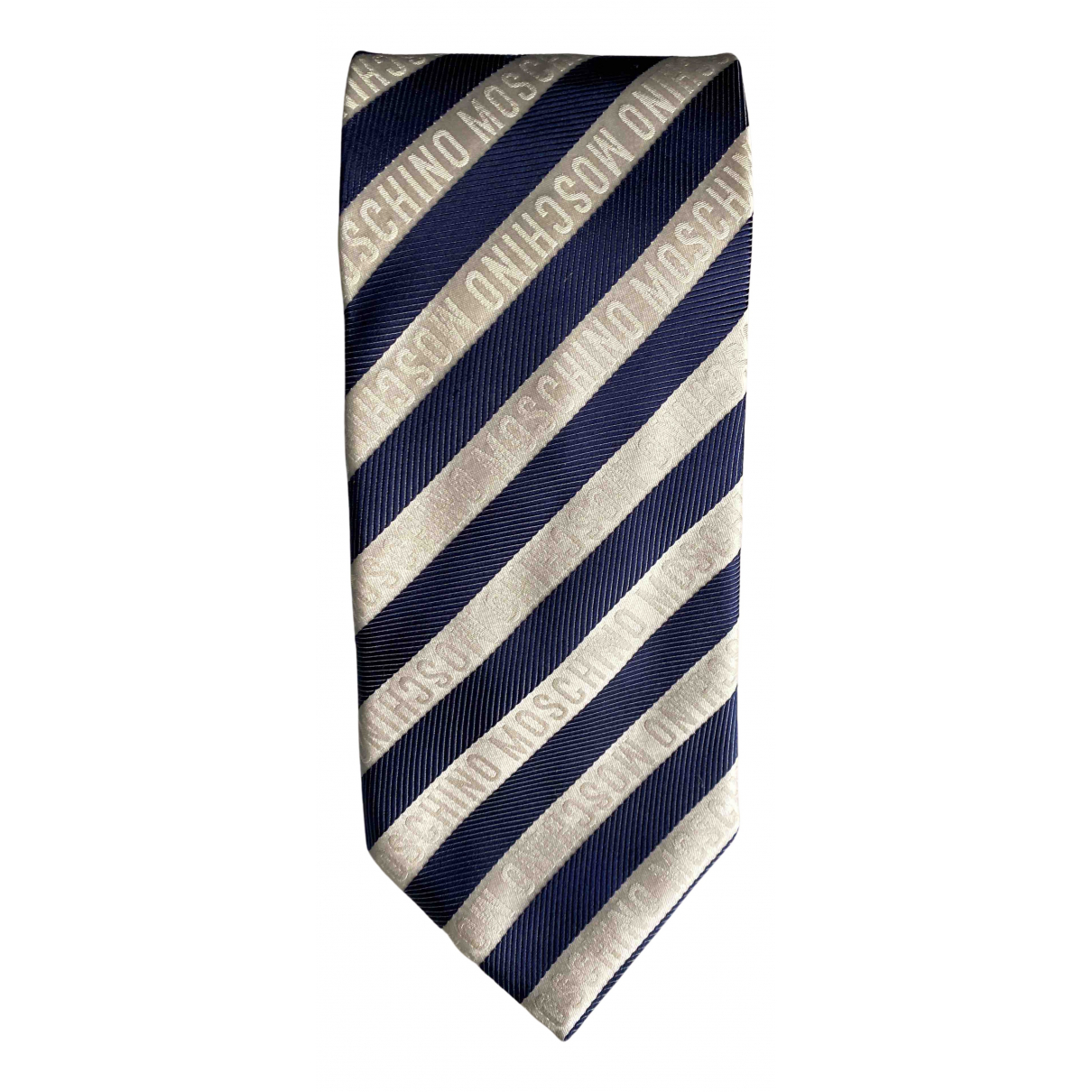 Moschino N Multicolour Silk Ties for Men N