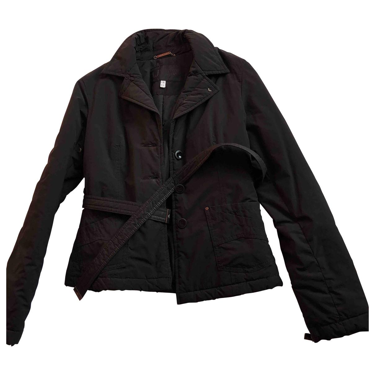 Armani Jeans \N Jacke in  Schwarz Polyester