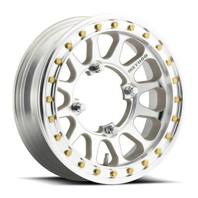 Method Race Wheels UTV Series 401-R Beadlock, 15x5 with 4 on 156 Bolt Pattern (Low Offset) - Machined - MR40155046300B2